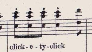clickety-click-quaver